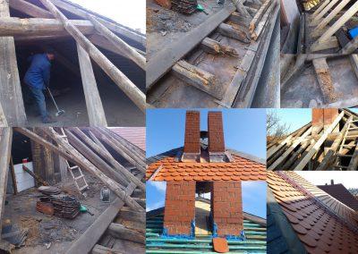 Entwicklung Dach