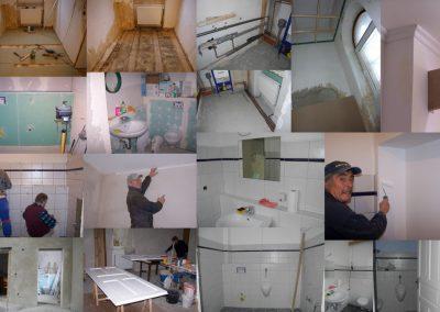 Entwicklung Toiletten